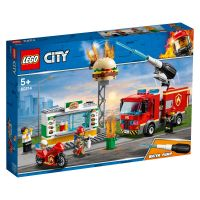 LEGO® City - Stingerea incendiul de la Burger Bar (60214)