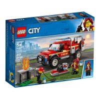 LEGO® City - Camionul de interventie al comandantului pompierilor (60231)