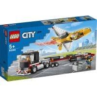 LG60289_001w LEGO® City - Transportor de avion cu reactie pentru spectacol aviatic (60289)