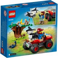 LG60300_001w LEGO® City - Atv de salvare a animalelor salbatice (60300)