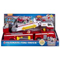 Set Camion de pompieri Paw Patrol si Marshall, Ultimate Fire Truck 6043989
