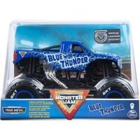 6044869_006w Masinuta Monster Jam, Blue Thunder, Scara 1:24