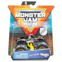 6044941_011w Masinuta Monster Jam, Scara 164, Badnews cu figurina, Negru