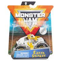 6044941_017w Masinuta Monster Jam, Scara 1:64, Earth Shaker cu figurina, Alb