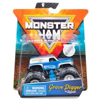 6044941_019w Masinuta Monster Jam, Scara 164, Grave Digger cu figurina, Albastru