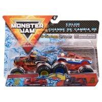 6044943_021w Set 2 masini Monster Jam, Scara 164, El Toro Loco si Cyclops