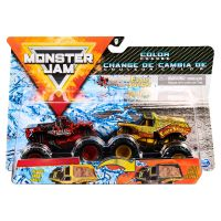 6044943_027w Set 2 masini Monster Jam, Scara 1:64, Northern Nightmare si Earth Shaker
