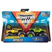 6044943_007w Set 2 masini Monster Jam Brodozer si Gas Monkey