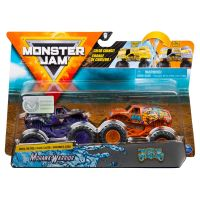 6044943_012w Set 2 masini Monster Jam, Scara 1:64, Mohawk Warrior si Jester