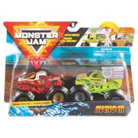 6044943_013w Set 2 masini Monster Jam, Scara 1:64, Wonder Woman si Avenger