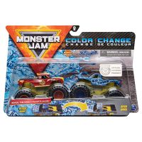 6044943_017w Set 2 masini Monster Jam, Scara 1:64, Radical Rescue si Blue Thunder