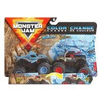 6044943_033w Set 2 masinute Monster Jam, Color Change, Megalodon si Pirate's Curs, 20128653