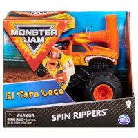 6044990_008w Masinuta Monster Jam, Scara 1:43, El Toro Loco Spin Rippers