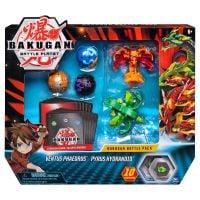 6045132_017w Set 5 Bakugan Battle Planet, Ventus Phaedrus, Pyrus Hydranoid, 20115151