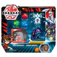6045132_022w Set 5 Bakugan Battle Planet, Haos Dragonoid, Darkus Goreene, 20115627