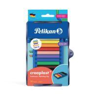 604543_001w Set plastilina creaplast, Pelikan, cu tavita Kreativfabrik