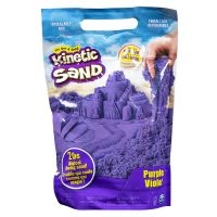 6046035_001w Rezerva nisip colorat Kinetic Sand, Mov, 900g