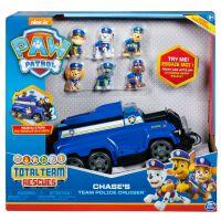 6052956_001w Set Masinuta cu figurine Paw Patrol, Chase's Team Police Cruiser
