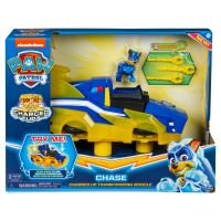 6055932_001w Masinuta Paw Patrol, Chase Charged Up Transforming Vehicle