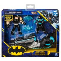 6055934_001w Set 2 figurine Batman cu motocicleta, Moto-Tank, Batman vs Bane