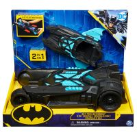 6055952_001w Masinuta 2 in 1 Batman, Bat-Tech Batmobile