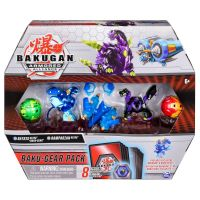 6056037_004w Set 4 Bakugan Armored Alliance, Batrix Ultra, Ramparian Ultra, 20124159