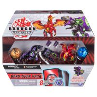 6056037_002w Set 4 Bakugan Armored Alliance, Trox, Pegatrix, 20122677