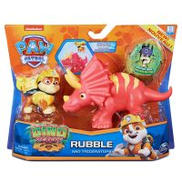 6058512_003w Set 2 figurine Paw Patrol Dino Rescue, Rubble and Triceratops, 20126404