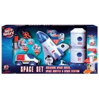 Set Spatial cu figurine 3 in 1 Astro Venture (Statie spatiala, Naveta spatiala, Vehicul spatial)