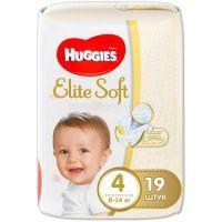 9400723 Scutece Huggies Elite Soft Convi, nr 4, 8-14 kg, 19 buc