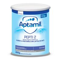 649973_001w Lapte praf Aptamil Nutricia Pepti 2, 400 g, 6-12 luni