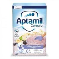 657548_001w Cereale cu lapte si fructe Aptamil, 225 g, 8 luni +