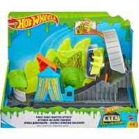 FNB05_2018_031w Set de joaca Circuit cu obstacole Hot Wheels City, Toxic Dino Coaster Attack (GTT68)