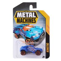 6708 Kinetic Masinuta Metal Machines Kinetic, 1:64, Albastru