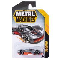 6708 Scorpio Masinuta Metal Machines Scorpio, 1:64, Gri