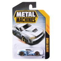 6708 White Fang Masinuta Metal Machines White Fang, 1:64, Alb