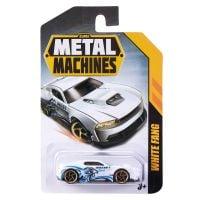 6708 White Fang Masinuta Metal Machines White Fang, 1:64, Alb