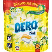 67472822_001w Detergent Duo Caps Frezie si flori de tei, 24 spalari