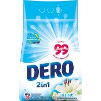 68286595_001w Detergent automat Dero 2 in 1 Iris Alb, 60 spalari, 6 kg
