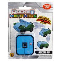 Jucarie convertibila Morphers Pocket - Cifra 0, Jeep