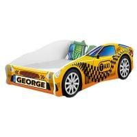 Pat Tineret MyKids Race Car 10 Taxi, Somiera 140x70 cm