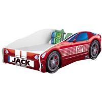 Pat Tineret MyKids Race Car 01 Red, Somiera 140x70 cm