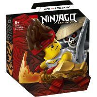 LG71730_001w LEGO® Ninjago® - Set de lupta epica - Kai contra Skulkin (71730)