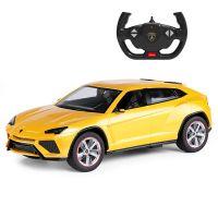 73000_2018 Galben Masinuta cu telecomanda Rastar Lamborghini Urus, Galben, 1:14