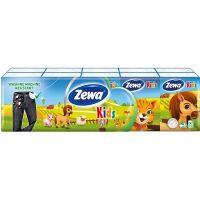 51121_001w Set Batiste nazale Zewa Kids, 4 straturi, 10x9 bucati