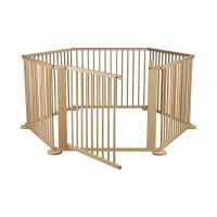 732854806780 TJ01N_001 Tarc de joaca pentru copii, Primii Pasi, din lemn 172 x 97 cm