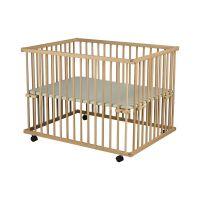 732854807787 TFB03N_001 Tarc de joaca pentru copii, Primii Pasi, din lemn 100 x 75 cm