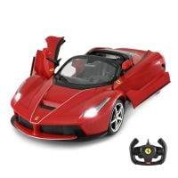 75800_001w Masinuta cu telecomanda Rastar Ferrari LaFerrari Aperta, 114, Rosu