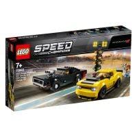 LEGO Speed Champions - 2018 Dodge Challenger SRT Demon si 1970 Dodge Charger