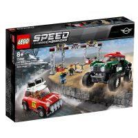 LEGO® Speed Champions - 1967 Mini Cooper S Rally si 2018 MINI John Cooper Works (75894)